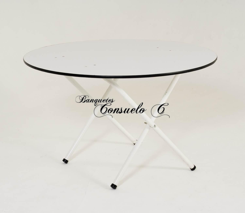 mesas redondas para fiestas
