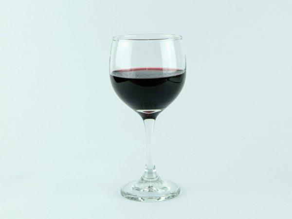 copa con vino