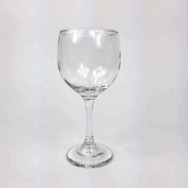 copa de vino tinto redonda