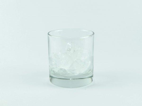 vaso roquero con hielo