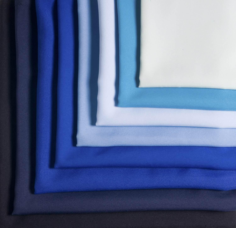 Manteles para mesas redondas - Gamas de colores azules ...