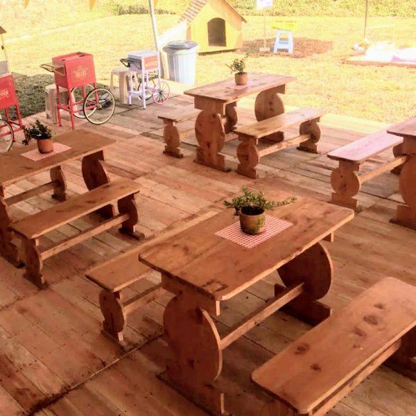 mesas para picnic
