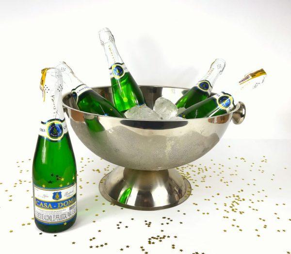 bowl grande con champaña