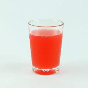 vaso con jugo